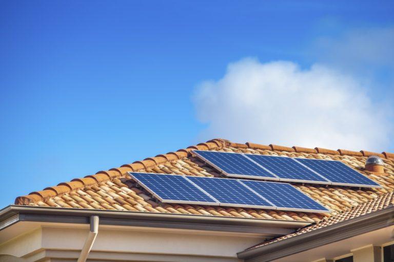 solar paneled roof